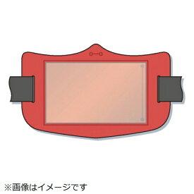 つくし工房 TSUKUSHI KOBO つくし e腕章 透明ポケット付き 赤 ロングゴムバンド付