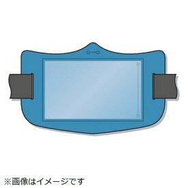 つくし工房 TSUKUSHI KOBO つくし e腕章 透明ポケット付き 青 ロングゴムバンド付