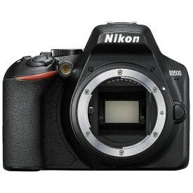 ニコン Nikon D3500 デジタル一眼レフカメラ ブラック [ボディ単体][D3500]