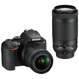 ニコン Nikon D3500 デジタル一眼レフカメラ ブラック [ズームレンズ+ズームレンズ][D3500WZ]
