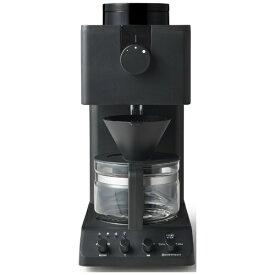 ツインバード TWINBIRD コーヒーメーカー ブラック CM-D457B [全自動 /ミル付き][CMD457B]【point_rb】