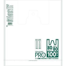 日本サニパック SANIPAK サニパック Y12H−W レジ袋80/80号 乳白