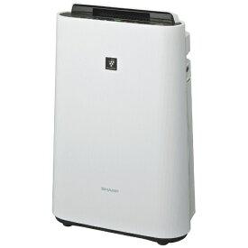 シャープ SHARP KC-J50-W 加湿空気清浄機 ホワイト系 [適用畳数:23畳 /最大適用畳数(加湿):14畳 /PM2.5対応][加湿器 空気清浄機 KCJ50 プラズマクラスター]