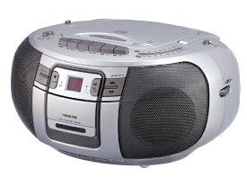 コイズミ KOIZUMI SAD-4943 CDラジオ シルバー [ワイドFM対応 /CDラジカセ][SAD4943S]