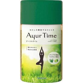 バスクリン BATHCLIN Ayur Time(アーユルタイム)レモングラス&ベルガモットの香り(720g)[入浴剤]【rb_pcp】