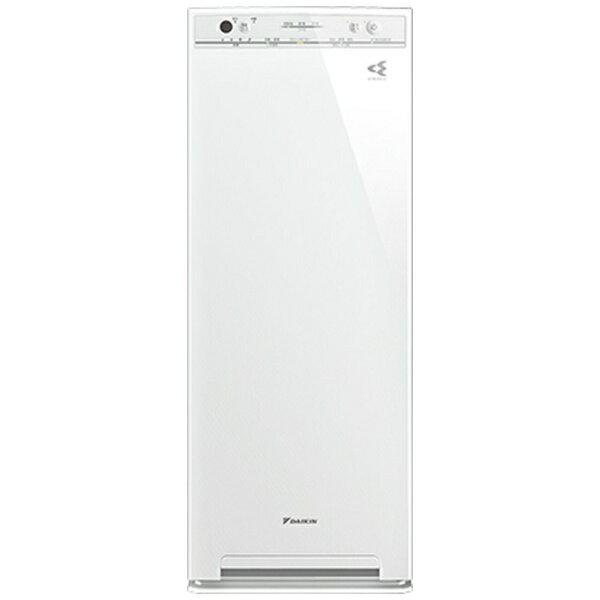 ダイキン DAIKIN MCK40V-W 加湿空気清浄機 ホワイト [適用畳数:19畳 /最大適用畳数(加湿):11畳 /PM2.5対応 /最大適用畳数(加湿):11畳][MCK40VW]