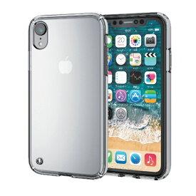 エレコム ELECOM iPhone XR 6.1インチ用 ハイブリッドケース PM-A18CHVCCR