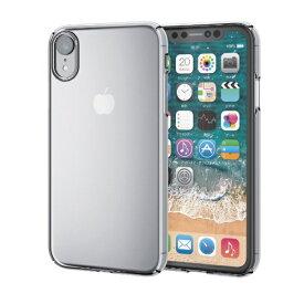 エレコム ELECOM iPhone XR 6.1インチ用 シェルカバー 極み PM-A18CPVKCR