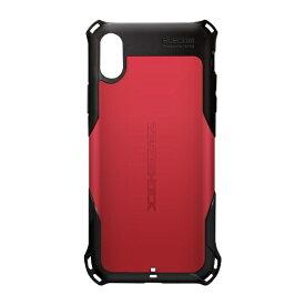 エレコム ELECOM iPhone XR 6.1インチ用 ZEROSHOCK スタンダード PM-A18CZERORD