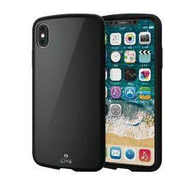 エレコム ELECOM iPhone XS Max 6.5インチ用 TOUGH SLIM LITE PM-A18DTSLBK