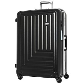 TRAVEL EARTH トラベルアース 【ビックカメラグループオリジナル】スーツケース 65L ブラック TE-0791-61-BK [TSAロック搭載]【point_rb】