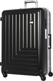 TRAVEL EARTH トラベルアース 【ビックカメラグループオリジナル】スーツケース TE-0791-67BK ブラック [90L]【point_rb】