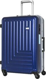TRAVEL EARTH トラベルアース 【ビックカメラグループオリジナル】スーツケース TE-0791-67NV ネイビー [90L]【point_rb】