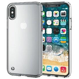 エレコム ELECOM iPhone XS 5.8インチ用 ハイブリッドケース PM-A18BHVCCR