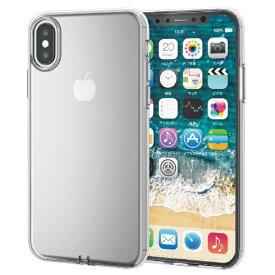 エレコム ELECOM iPhone XS 5.8インチ用 ソフトケース 極み PM-A18BUCTCR