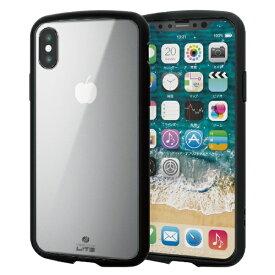 エレコム ELECOM iPhone XS 5.8インチ用 TOUGH SLIM LITE クリア PM-A18BTSLCCR