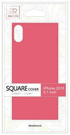 OWLTECH オウルテック iPhone XR 6.1インチ対応 背面強化ガラスハイブリットケース チェリー OWL-CVIA6117-CY