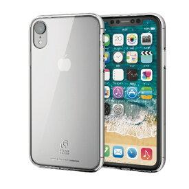 エレコム ELECOM iPhone XR 6.1インチ ハイブリッドケース ガラス スタンダード PM-A18CHVCG1CR