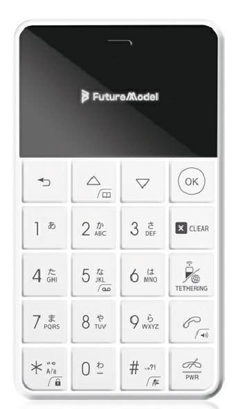 フューチャーモデル Future Model FutureModel フューチャーモデル NichePhone-S-4G ホワイト 「MOB-N18-01WH」nanoSIM ドコモ/ソフトバンクSIM対応 SIMフリー携帯電話[MOBN1801WH]