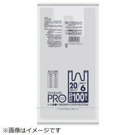 日本サニパック SANIPAK サニパック Y−6N レジ袋30/40号 半透明