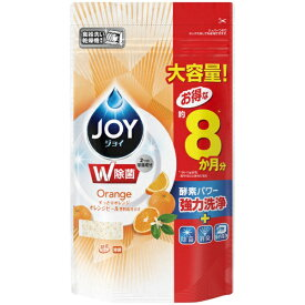 P&G ピーアンドジー JOY(ジョイ)食洗機用ジョイ オレンジピール成分入り 詰替特大(930g)〔食器用洗剤〕