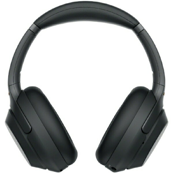 【送料無料】 ソニー SONY ブルートゥースヘッドホン WH-1000XM3BM ブラック [ハイレゾ対応 /マイク対応 /Bluetooth /ノイズキャンセリング対応]