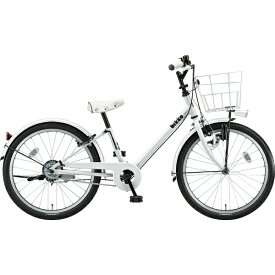 ブリヂストン BRIDGESTONE 22型 子供用自転車 bikke j(ホワイト×シングル/シングルシフト)BK22VJ【2019年モデル】【組立商品につき返品不可】 【代金引換配送不可】