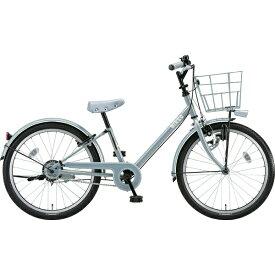 ブリヂストン BRIDGESTONE 22型 子供用自転車 bikke j(ブルーグレー×シングル/シングルシフト)BK22VJ【2019年モデル】【組立商品につき返品不可】 【代金引換配送不可】
