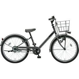 ブリヂストン BRIDGESTONE 22型 子供用自転車 bikke j(ダークグレー×シングル/シングルシフト)BK22VJ【2019年モデル】【組立商品につき返品不可】 【代金引換配送不可】