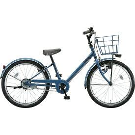 ブリヂストン BRIDGESTONE 22型 子供用自転車 bikke j(ネイビーグレー×シングル/シングルシフト)BK22VJ【2019年モデル】【組立商品につき返品不可】 【代金引換配送不可】