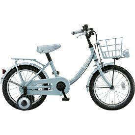 ブリヂストン BRIDGESTONE 16型 幼児用自転車 bikke m(ブルーグレー×シングル/シングルシフト)BK16UM 【2019年モデル】[BK16UM]【組立商品につき返品不可】 【代金引換配送不可】