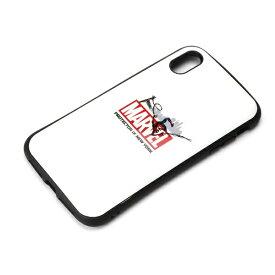 PGA iPhone XS Max 6.5インチ用 ハイブリッドタフケース PG-DCS535SPM スパイダーマン ホワイト
