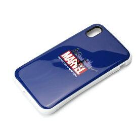 PGA iPhone XS Max 6.5インチ用 ハイブリッドタフケース PG-DCS536SPM スパイダーマン ネイビー