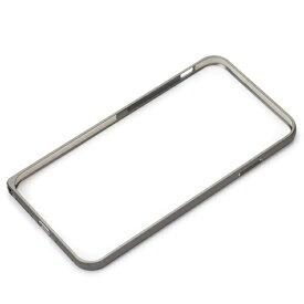 PGA iPhone XS Max 6.5インチ用 アルミニウムバンパー PG-18ZBP01BK ブラック