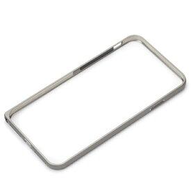 PGA iPhone XS Max 6.5インチ用 アルミニウムバンパー PG-18ZBP02SV シルバー