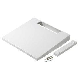 ナカムラ D05000001 WALL ウォール 壁寄せテレビスタンドV2・V3専用棚板 ホワイト サテンホワイト