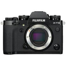 富士フイルム FUJIFILM X-T3-B ミラーレス一眼カメラ ブラック [ボディ単体][FXT3B]