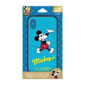 PGA iPhone XR 6.1インチ用 ハイブリッドタフケース PG-DCS480M9R ミッキーマウス レッド
