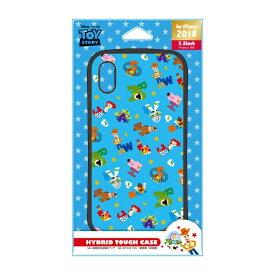 PGA iPhone XS 5.8インチ用 ハイブリッドタフケース PG-DCS551TOY トイストーリー ブルー