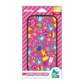 PGA iPhone XS 5.8インチ用 ハイブリッドタフケース PG-DCS553MOI モンスターズインク ピンク