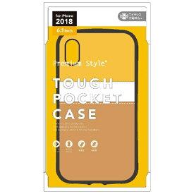 PGA iPhone XR 6.1インチ用 タフポケットケース モンブラン PG-18YPT06YE モンブラン