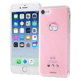 イングレム Ingrem iPhone SE(第2世代)4.7インチ/ iPhone 8/7 TPUケース+背面パネル/おしゅしだよ IJ-TCP7TP/OS020 ぶりちー1