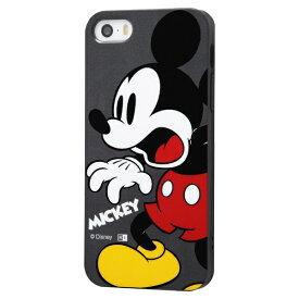 イングレム Ingrem iPhone SE(第1世代)4インチ/5s/5 『ディズニーキャラクター』/TPUソフトケース Colorap/ミッキー IN-DP17CP1/MK ミッキー