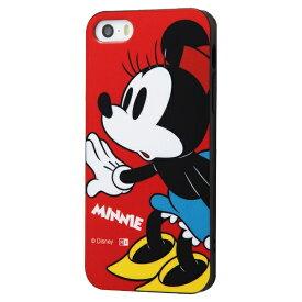イングレム Ingrem iPhone SE(第1世代)4インチ/5s/5 『ディズニーキャラクター』/TPUソフトケース Colorap/ミニー IN-DP17CP1/MN ミニー