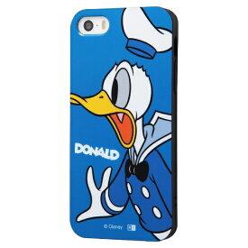イングレム Ingrem iPhone SE(第1世代)4インチ/5s/5 『ディズニーキャラクター』/TPUソフトケース Colorap/ドナルド IN-DP17CP1/DD ドナルド