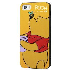 イングレム Ingrem iPhone SE(第1世代)4インチ/5s/5 『ディズニーキャラクター』/TPUソフトケース Colorap/プー IN-DP17CP1/PO プー