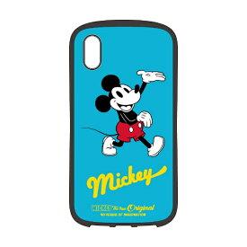 PGA iPhone XS Max 6.5インチ用 ハイブリッドタフケース PG-DCS516M9B ミッキーマウス ブルー