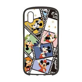 PGA iPhone XS Max 6.5インチ用 ハイブリッドタフケース PG-DCS517M9N ミッキーマウス フィルム