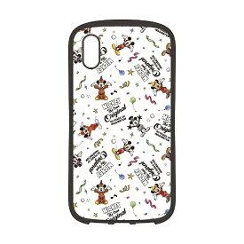 PGA iPhone XS Max 6.5インチ用 ハイブリッドタフケース PG-DCS518M9W ミッキーマウス ホワイト