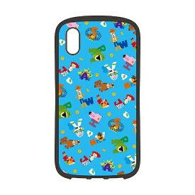PGA iPhone XS Max 6.5インチ用 ハイブリッドタフケース トイ ストーリー ブルー PG-DCS524TOY トイ ストーリー ブルー
